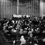 Молодёжный хор Иркутской церкви ЕХБ в концертном зале стадиона «Труд»