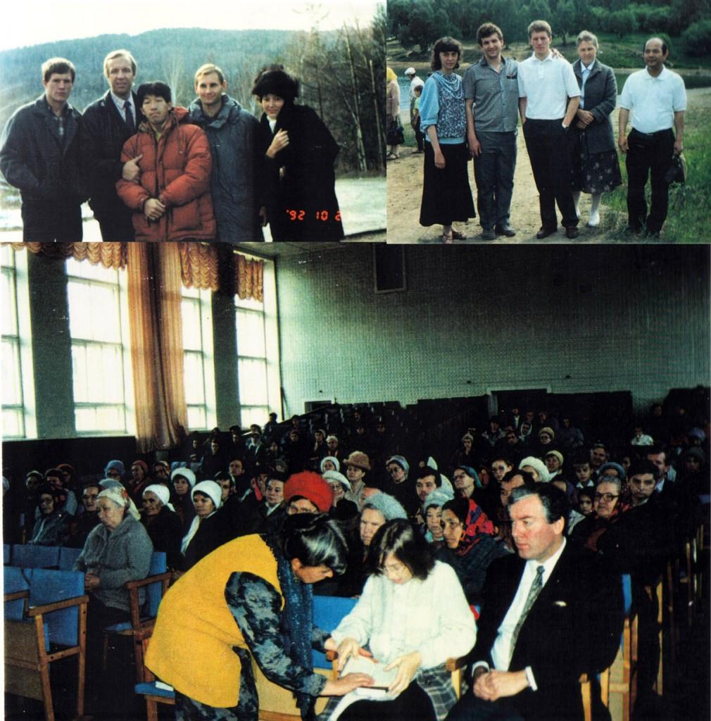 Наша церковь принимает иностранных гостей