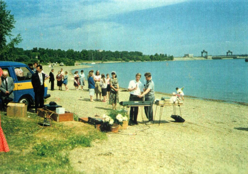 Крещение, г. Иркутск, 1992 г.