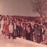 1991 г. Молодёжь Иркутской церкви ЕХБ