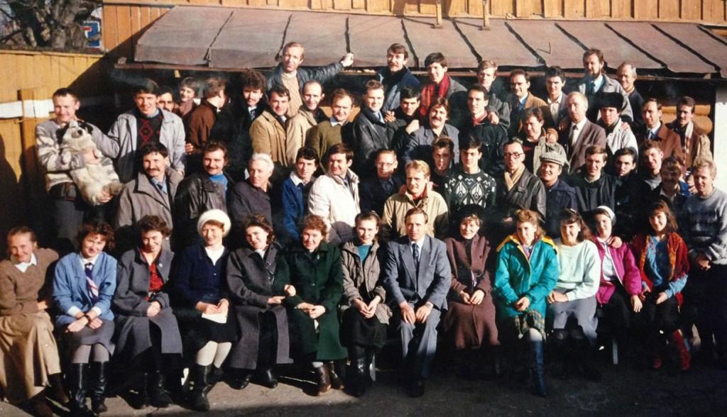 Октябрь 1992 г. Обучение благовестию. Кайская, 5