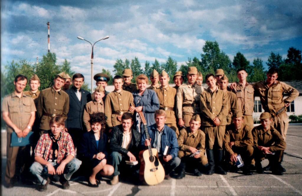 14 июня 1997 г. Евангелизация в воинской части п. Горный