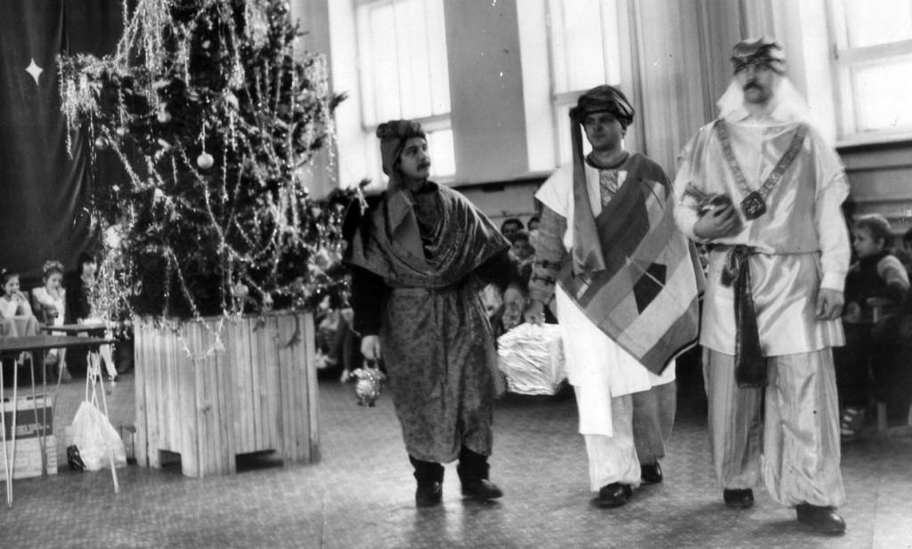 1994 год. Рождественская детская ёлка