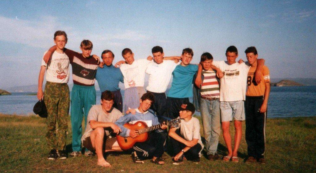 Детский христианский лагерь «Колосок» 1996 г. оз. Байкал