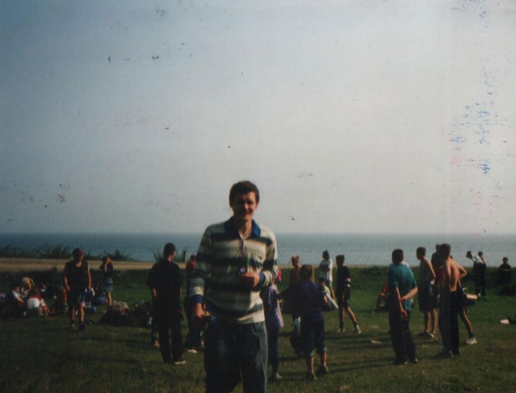 Лето 1998 г. Детский христианский лагерь «Колосок». Олег Синяков