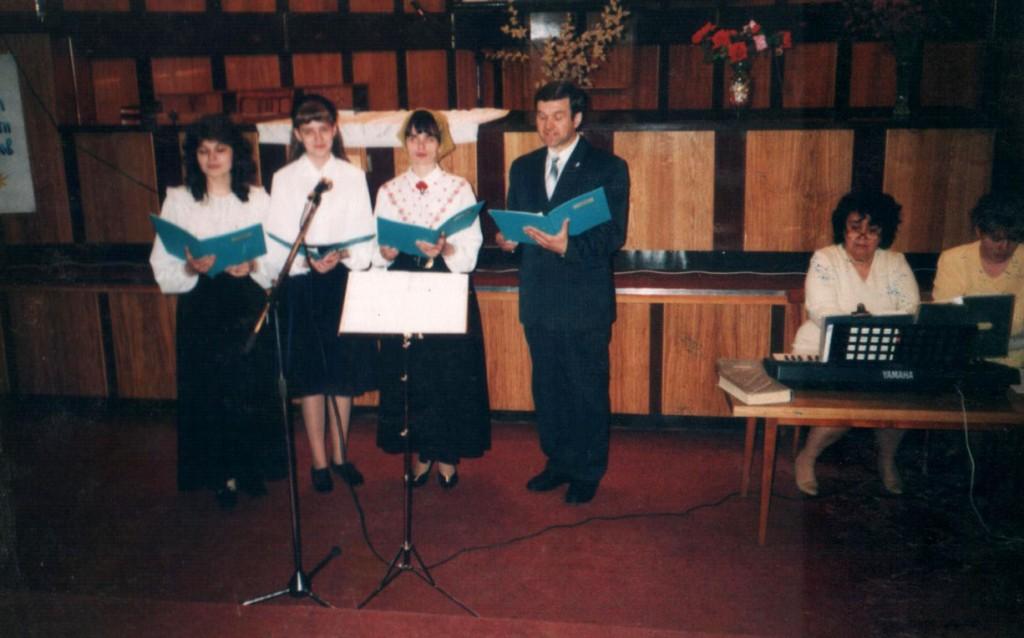 27 апреля 1997 г. Пасхальное богослужение. Праздничная пасхальная декламация