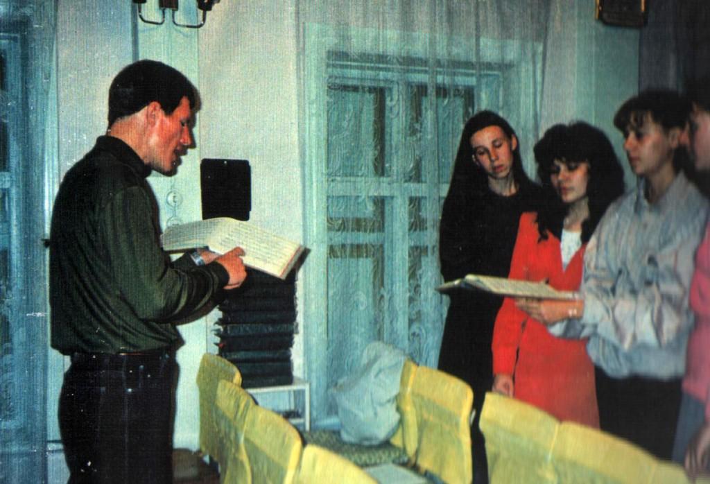 Сентябрь 1997 г. Регент хора – Зайцев Виктор