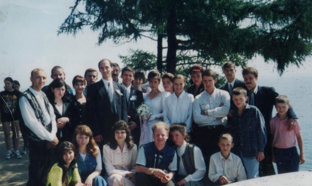 22 августа 1998 г. свадьба Портяного Игоря и Цебрик Нелли