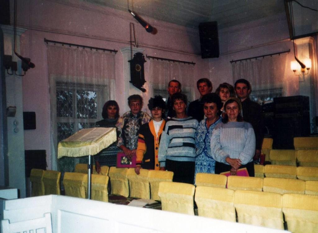 Спевки хора проходят в Доме Молитвы Первой иркутской церкви по ул. Кайской, 5